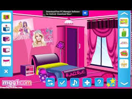 barbie fun room decoration game