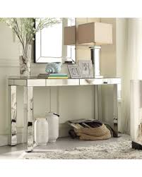 mirror console table. Inspire Q Fascual 2-drawer Mirrored Console Table , Silver Mirror