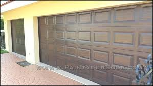 what kind of paint to use on garage door garage door painted to look like wood what kind of paint to use on garage door