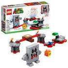 Lego Super Mario Whomp's Lava Trouble Expansion Set 71364 Toy Building Kit (133 Pieces)