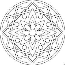 Mandalas Kleuren Pagina 5 Spiritualiteit In