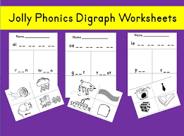 Based on jolly phonics, cartoonito activity sheets are a perfect resource to help support children while they are learning to read and write. Jolly Phonics Digraph Worksheets Set 4 Mash Ie