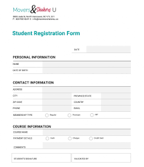 001 Registration Form Template Word Ideas Customize Final