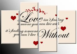 love isnt finding quote red black on cream canvas 4 panel wall art print 40 inch on black and cream wall art uk with love isnt finding quote red black on cream canvas 4 panel wall art