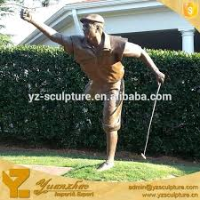 golf statues home decorating impressive stunning awesome garden