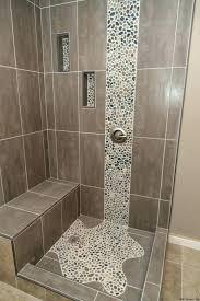 shower stone tile stone shower floor tile beautiful shower floor using sliced ocean pebble tile cleaning