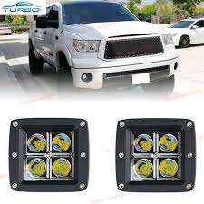 2008 Toyota Sequoia Fog Lights Details About 2x 16w 3inch Cube Led Spot Fog Lights For Toyota Tundra Tacoma Pickup Offroad