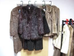 lot 588 a las light brown full length coney fur coat three further three