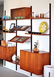 danish wall unit mid century modern