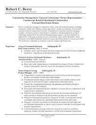General Contractor Resume 12 Example Builder Companies ...