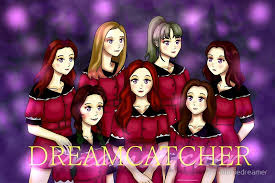 Animated Dream Catcher Dreamcatcher Kpop Anime Dream Catcher Greeting Cards by 74