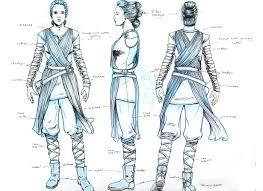 star wars the force awakens rey costume turnaround