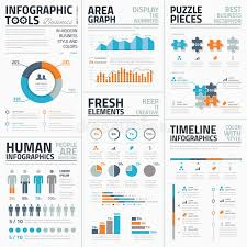 large templates large collection of infographic vector templates stock illustration
