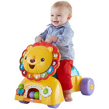 Fisher-Price 3-in-1 Sit, Stride \u0026 Ride Lion - Walmart.com