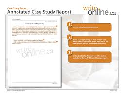 consulting case study structure