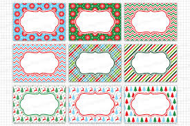 Christmas Labels Graphics And Illustrations Christmas Cards