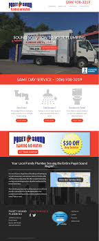 puget sound plumbing. Perfect Sound Puget Sound Plumbing U0026 Heating Website History Intended