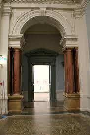 Kunst museum interior arch in Bern, Switzerland.