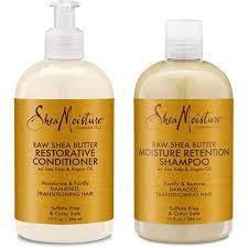 Shea Moisture Raw Shea Butter Restorative Shampoo 13oz And