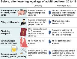 Adulthood Law Of Lower Diet To Enacts 18 News Age
