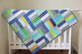 You'll Love These 18 Free & Easy Quilt Patterns - Page 3 of 3 ... & Easy Jelly Roll Quilt Pattern | Free Sewing Pattern | Cute Quilt for Boys |  DIY Adamdwight.com