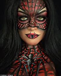 if you re already searching for inspiration look no further than face painter spiderman makeupspider