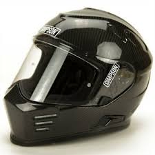 Details About Simpson Ghost Bandit Full Face Motorcycle Helmet Gloss Carbon Size Xl