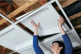 pvc ceiling tiles. Installing PVC Tiles Pvc Ceiling