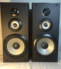 speakers 8 inch. sony ss-b3000 bookshelf speakers with 8-inch woofers 20 tall new look! 8 inch