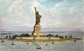 Статуя Свободы Кто автор статут свободы Где находится статуя  Статуя Свободы фото