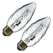 Decorative Halogen Light Bulbs Ge 16766 25bfm H Decorative Halogen Light Bulb Amazon Com