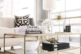 coffee table styling and decorating in