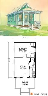 best 25 guest cottage plans ideas on small one room house floor trendy 13