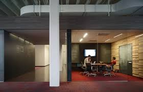 Office floor design Cool We Have Team Rooms At The Basecamp Office The Carpet Outside The Rooms Is Striated Red And Grey But The Carpet Inside The Rooms Are Just Red Signaling Gliffy Library Rules How To Make An Open Office Plan Work Signal V Noise