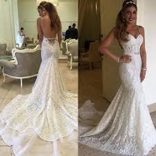 Wedding Dresses Mermaid Lace Open Back