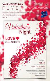 fabulous psd valentine flyer templates designs floral background valentine flyer template