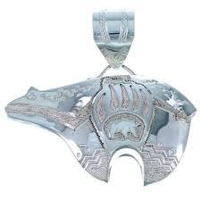 navajo indian genuine sterling silver