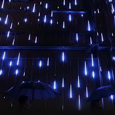 Halloween Home Decor Muequ Led Meteor Shower Lights