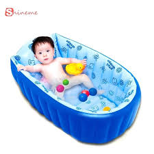 summer infant baby bath tub 0 3 years inflatable pool anti slippery baby bath tub children light swimming pool summer baby bathtub shower basin in baby tubs