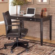 carlyle home office set w leg desk ashley furniture home office desk