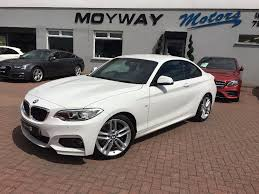 Used Bmw 2 Series Coupe 2.0 220d M Sport Auto 2dr (Start/stop) in ...