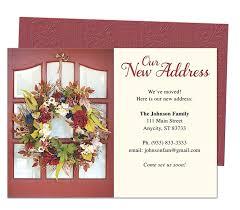 Change Of Address Postcards Template Under Fontanacountryinn Com