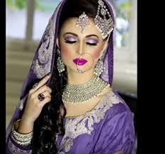 modern muslim bridal makeup look