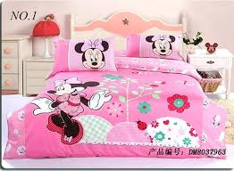 Minnie Mouse Sheets Mouse Bed Sheets Creative Fresh Mouse Bedroom ...