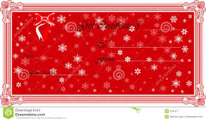 doc 15781214 christmas voucher template homemade vouchers certificate templates cooking gift christmas voucher template