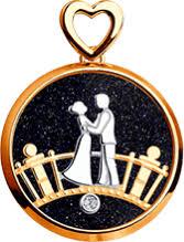 <b>Золотая подвеска Charm</b> «<b>Любовь</b>» SOKOLOV – купить в ...