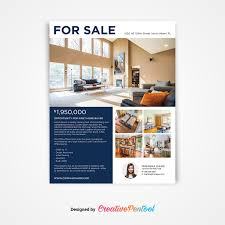 046 Home For Sale Flyer Template Ideas Listing Mockup