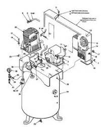 air compressor wiring diagram images sanborn air compressor parts