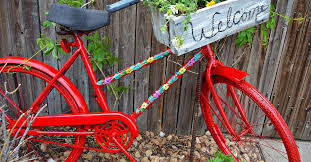 Repurposed Garden <b>Bike</b> | Hometalk