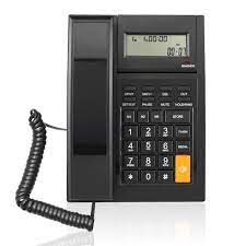 corded phone with caller id call